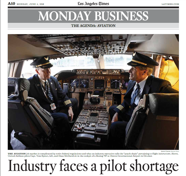 Worldwide Pilot Shortage?