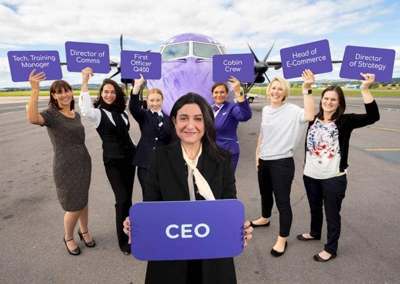 Flybe Announce 'FlyShe' Programme